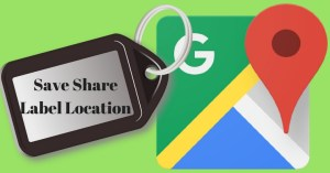 Save ShareLabel Location