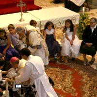 Niños, niñas y Cruzadas de la Iglesia, en la Cena del Señor