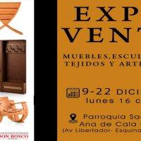 Expo Venta de la Asociación Familia de Artesanos Don Bosco