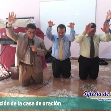 Dedicación de la casa de Oración en Usulután, distrito 6.