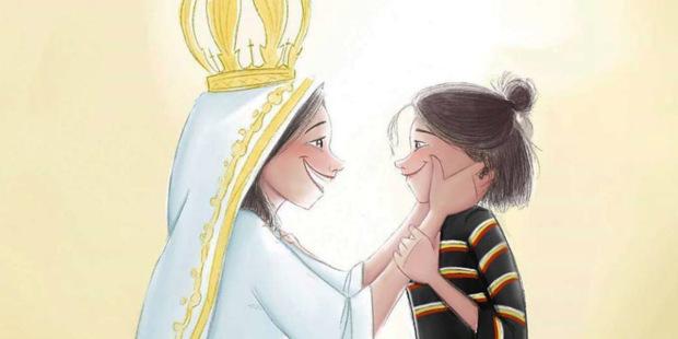 Una joven ilustradora emociona en las redes con sus dibujos de la Virgen