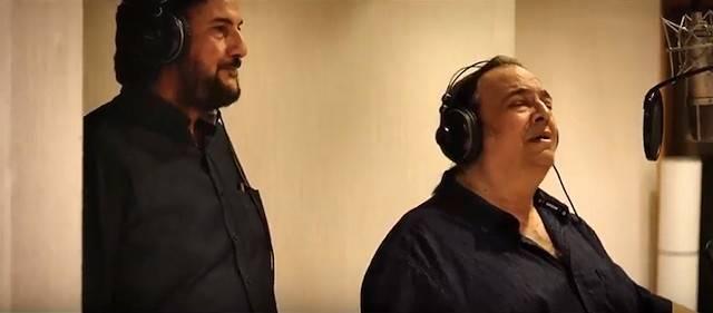 José María Zavala canta «Pero a tu lado» con Javier Urquijo para los créditos finales de «Renacidos»