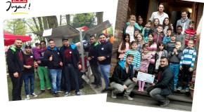 Solidarität live – OJA möchte Zusammenarbeit mit Buchenschule ausbauen
