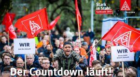 Der Countdown läuft! Tarifrunde Stahl 2019.