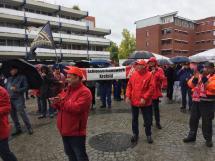 Foto Warnstreik Schlosserhandwerk 01.10.2019 in Emsdetten (2)