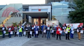Stadtwerke Krefeld muss bei ihren Beschaffungen auf gute Arbeit in Krefeld achten!