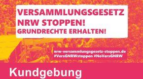 Aktion zum Erhalt der Versammlungsfreiheit am 26.5.21 ab 17 Uhr in Krefeld