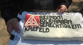 Einladung zur 130-Jahr-Feier der IG Metall Krefeld
