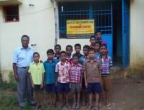 JK Joseph with orphans
