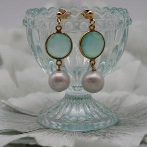 Boucles d'oreilles Venezia Perle