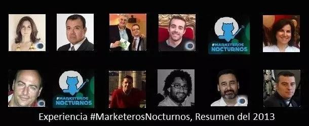 #MarketerosNocturnos Chat de Twitter