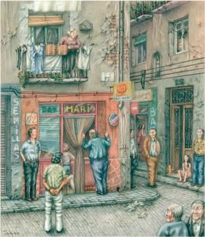 Bar Mari - Ignacio Fortún - Original