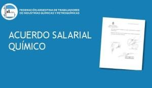 FATIQYO Acuerdo salarial paritaria químicos CCT 77/89