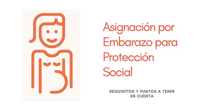 Asignación por Embarazo para Protección Social