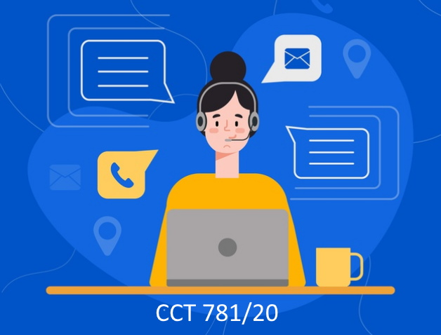 CCT 781/20 Call center