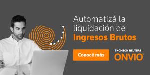 ONVIO liquidación automatizada Ingresos Brutos