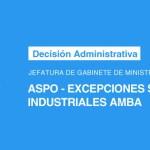 Decisión Administrativa Jefatura de Gabinete de Ministros