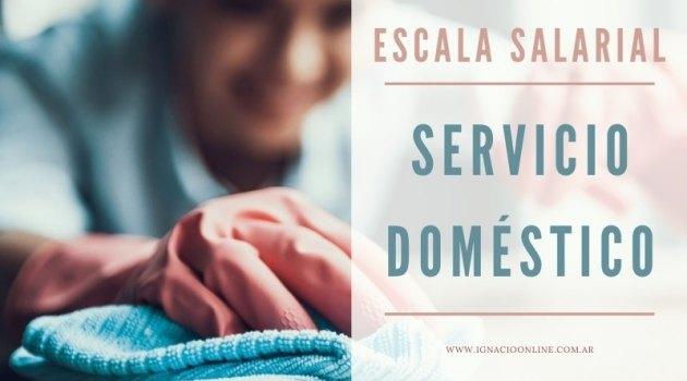 Servicio Domestico Escala Salarial