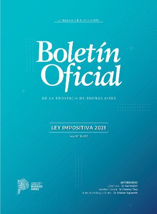 Descargar Ley Impositiva 2021 Provincia de Buenos Aires Ley 15226