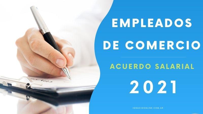 Se firmó la paritaria 2021 de Empleados de Comercio