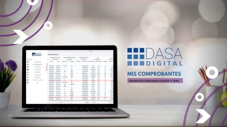 Como personalizar mis comprobantes con DASA Mis Comprobantes Reportes de AFIP Recibido y Emitidos Notas de crédito