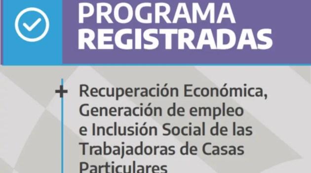 Registradas: quiénes y cómo pueden acceder al plan para sacar de la informalidad al personal doméstico