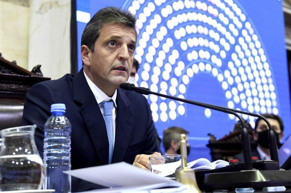 Servio Massa Diputados proyecto de ley alivio fiscal