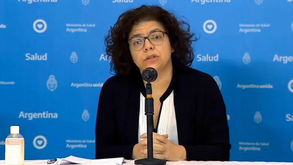 Carla Vizzotti Ministra de salud medidas
