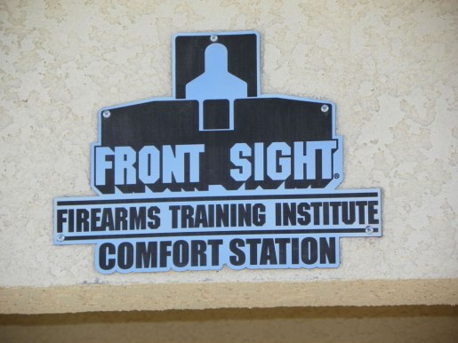 Front Sight Comfort Station