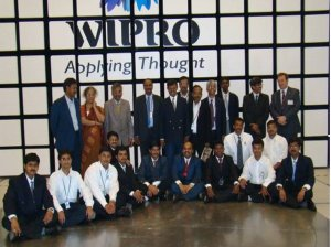 A snap of WIPRO days on the day of the inaguration function of TARANG LAB