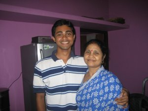 Myself with my MOTHER