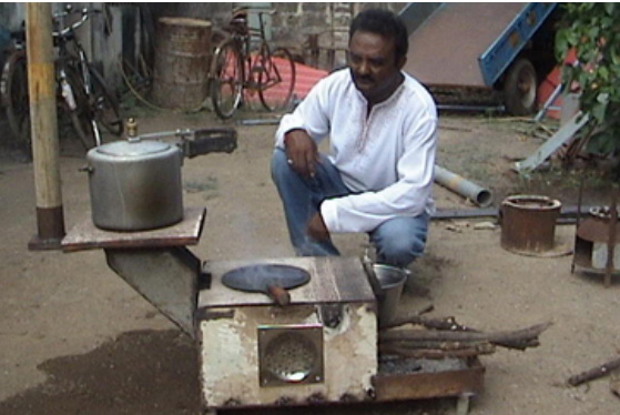 Innovative Wood Stove