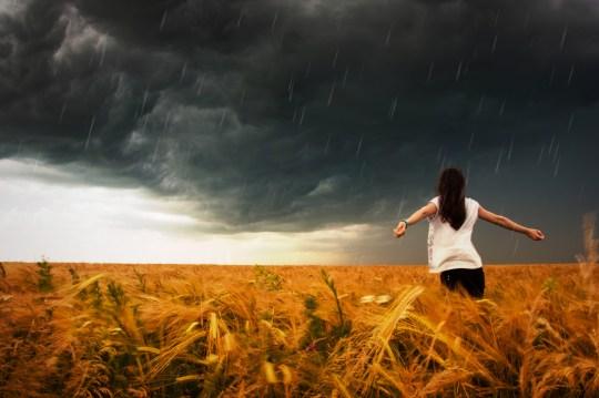 Anxiety Dark clouds