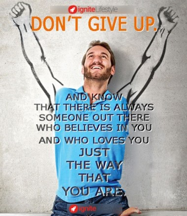 Dont-give-up-action-speaks-word