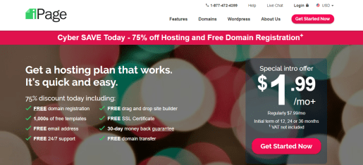 iPage | best web hosting sites