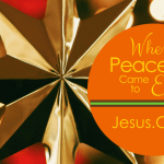Jesus.calm – When Peace Came to Earth