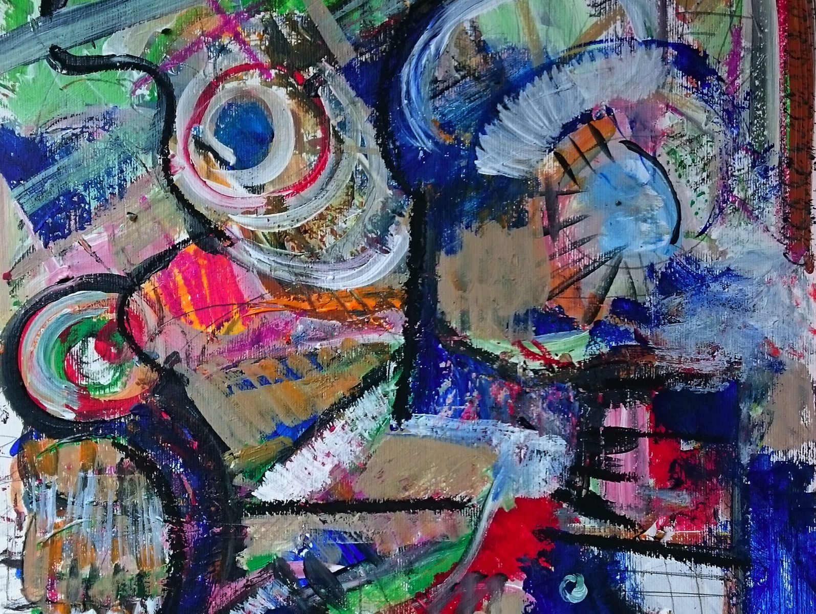 Abstract Painting: Patterns #6