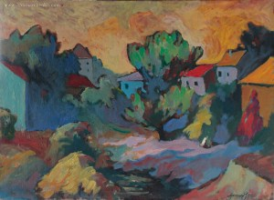 Red-roof_canvas_oil