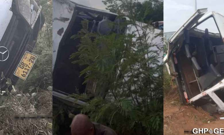 Accra-Tema motorway accident; 5 feared dead, 15 injured
