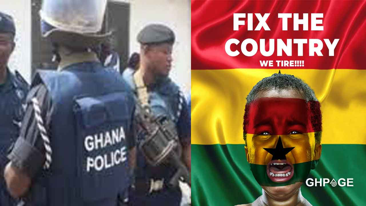 Ghana Police Service secures a court order to restrain the #FixTheCountry protest