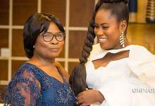 Lydia Forson rain curses on a fan who 'attacked' her mother on social media