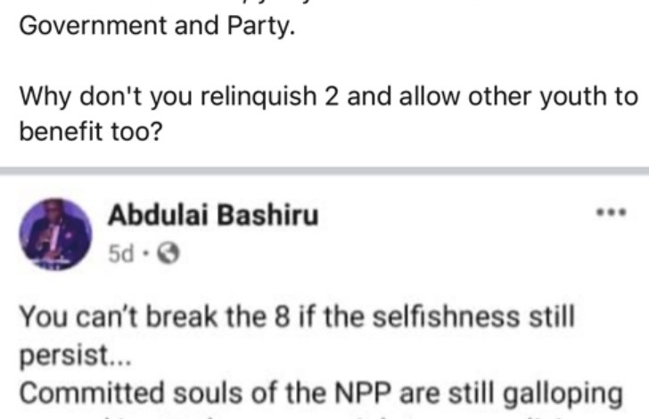 NPP's Abdulai Bashiru exposed for being on the payroll of 3 Gov't Institutions