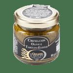 oliven tapenade med sort trøffel of ansjoser
