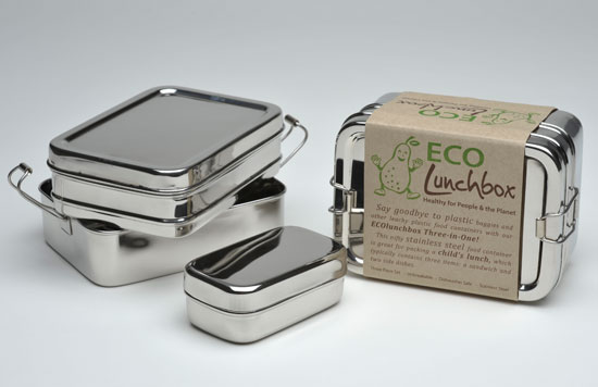 Eco Lunchbox Three-in-one set