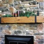 Custom Fireplace Mantel and Shelf Montana Design