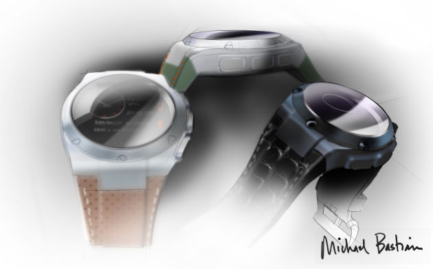 Michael Bastian released sketches of the upcoming watches