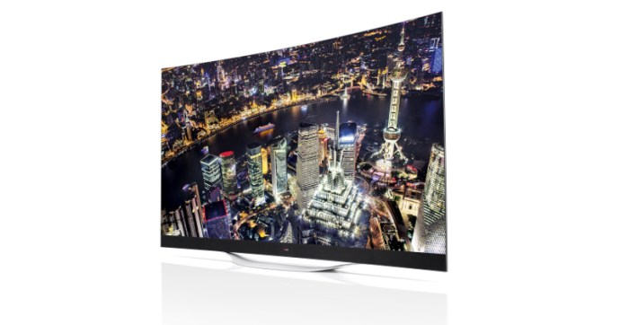 The 4K OLED's were introduced at CES 2014