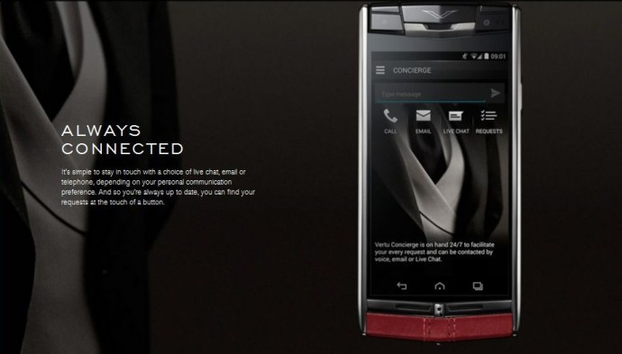 The Conceirge service is a really attractive feature for the elites who buy this phone.