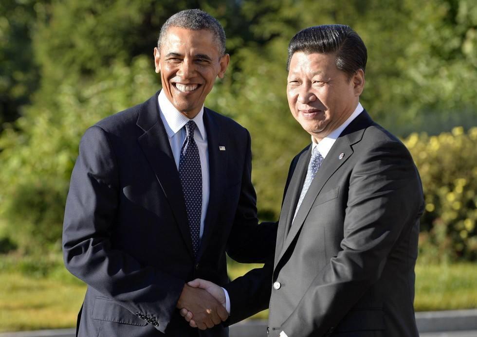 President Jinping meets Obama