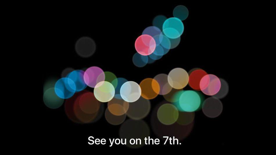Apple iphone 7 invite